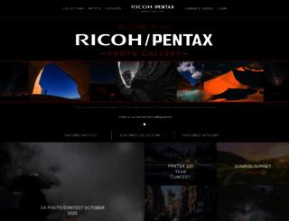 pentaxphotogallery.com screenshot