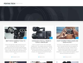 pentaxtech.com screenshot