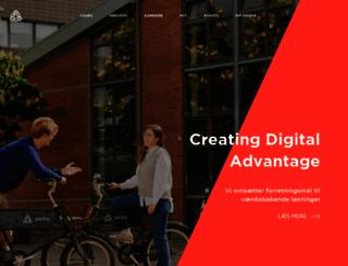 pentia.dk screenshot