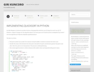 pentriloquist.wordpress.com screenshot