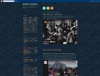 pentrumuzica.blogspot.com screenshot