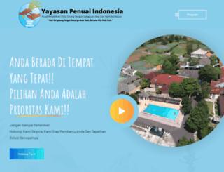 penuaiindonesia.org screenshot