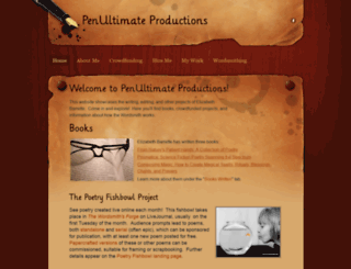penultimateproductions.weebly.com screenshot