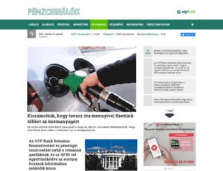 penz.transindex.ro screenshot