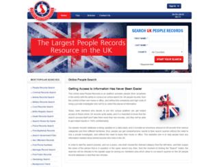 people-records.co.uk screenshot