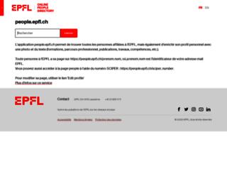 people.epfl.ch screenshot