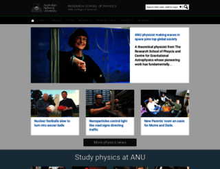 people.physics.anu.edu.au screenshot