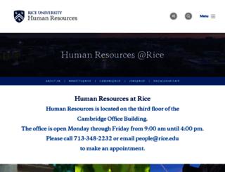 people.rice.edu screenshot