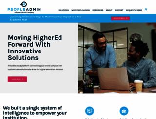 peopleadmin.com screenshot