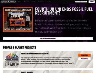 peopleandplanet.org screenshot