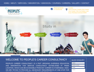 peoplecareer.net screenshot