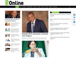peopledaily.co.ke screenshot