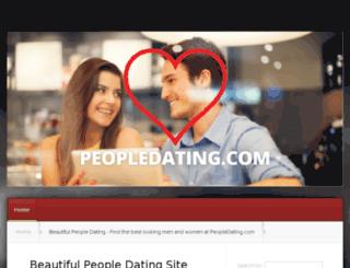 peopledating.com screenshot