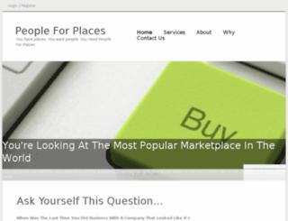 peopleforplaces.com screenshot