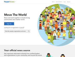peoplemovers.com screenshot