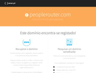 peoplerouter.com screenshot