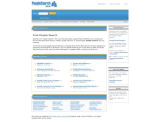 peoplesearch.com.au screenshot