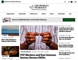 peoplespharmacy.com screenshot