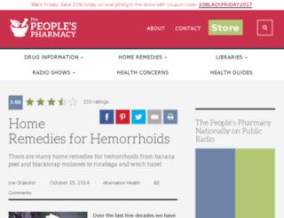 peoplespharmasy.com screenshot