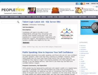peopleview.com screenshot