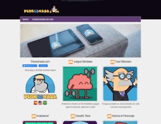 peoresnada.com screenshot