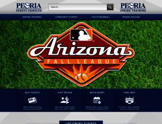peoriasportscomplex.com screenshot