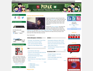 pepak.sabda.org screenshot