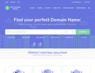 pepanimation.com screenshot