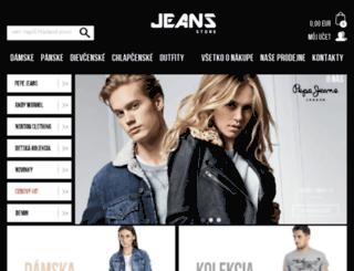pepe-jeans-store.sk screenshot