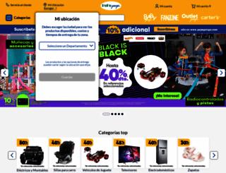 pepeganga.com screenshot