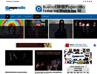 peperadio.es screenshot