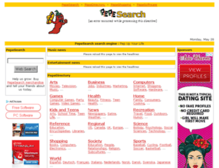 pepesearch.com screenshot