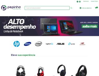 pepinha.com.br screenshot