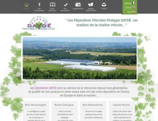 pepinieresdayde.fr screenshot