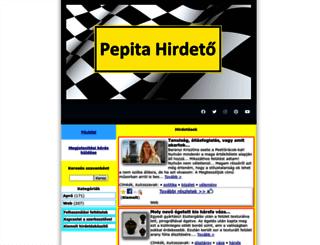 pepitahirdeto.multiapro.com screenshot