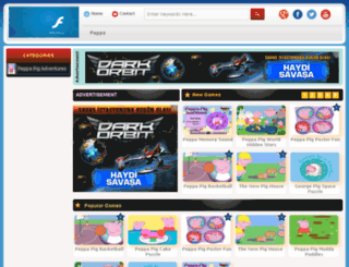 peppapiggame.net screenshot