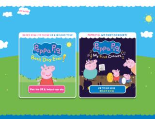 peppapiglive.com screenshot