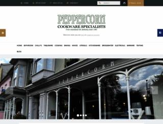 peppercorn.net screenshot
