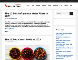 pepperfool.com screenshot