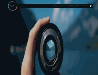 peppermedia.in screenshot