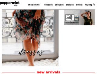 peppermint.storenvy.com screenshot