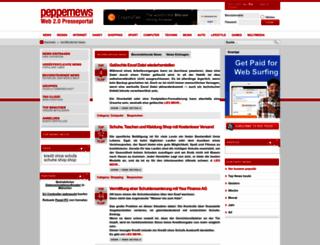 peppernews.eu screenshot