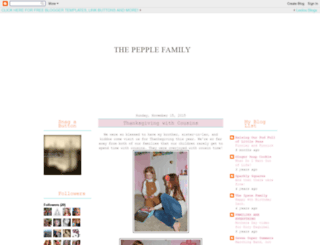 pepplefamily.blogspot.com screenshot