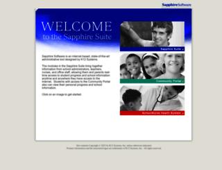 pequea-sapphire.k12system.com screenshot