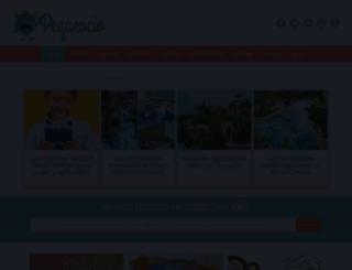 pequeocio.com screenshot