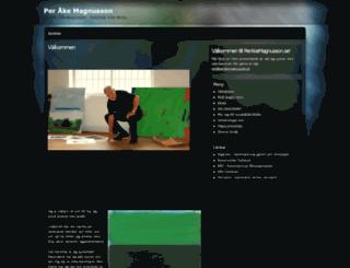 perakemagnusson.se screenshot