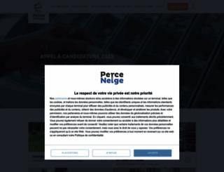 perce-neige.org screenshot