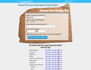 percentsoff.com screenshot