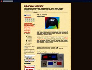 percetakan-ciputat.blogspot.com screenshot