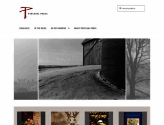 percevalpress.com screenshot